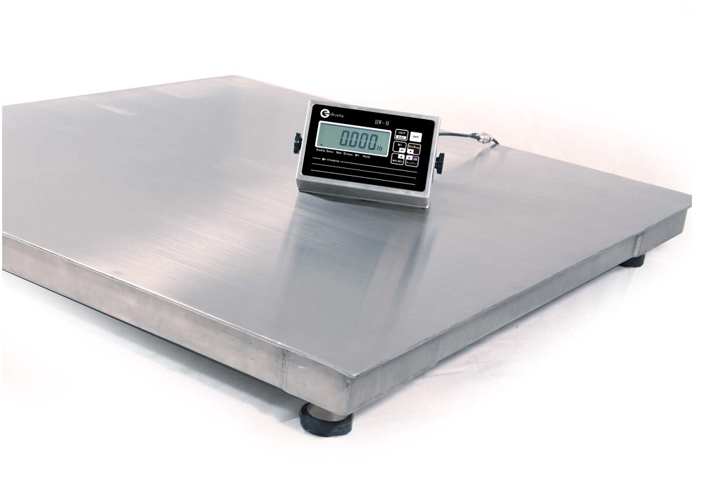 Stainless Steel Floor Scale with Indicator